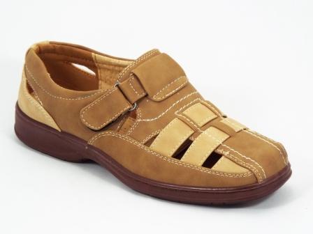 Sandale barbati bej Paolo