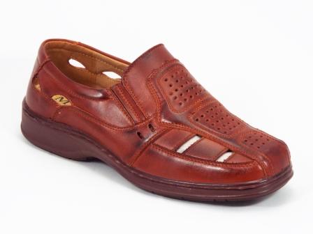 Sandale barbati maro Paully