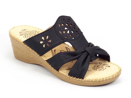 Papuci dama negri talpa ortopedica Merya