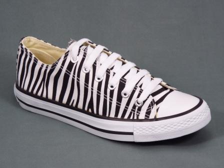 Tenesi dama albi cu negru Zebra