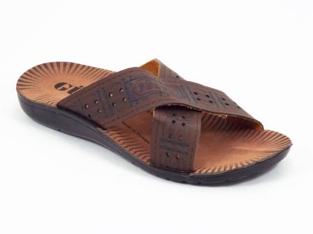 Papuci barbati maro Gozone