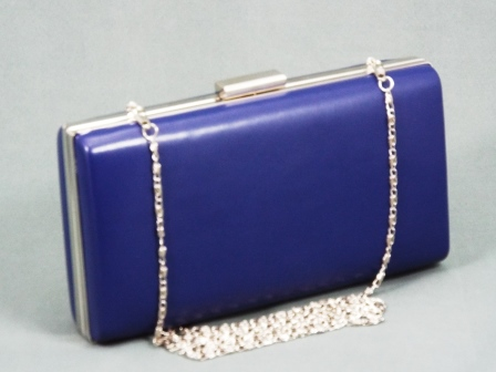 Geanta dama clutch albastra Lolla