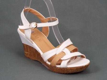 Sandale dama maro ortopedice toc 8 cm Doryna