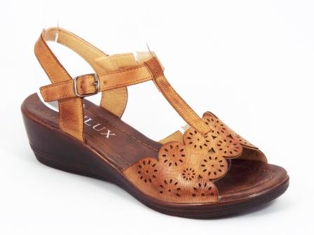 Sandale dama maro ortopedice toc 5 cm Anetty