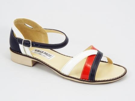 Sandale dama piele albastre Tommy