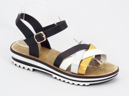 Sandale dama negre Paulla