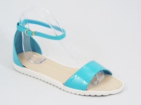Sandale dama albastre lac Tanya