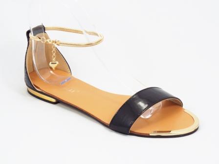 Sandale dama negre lac Brennya