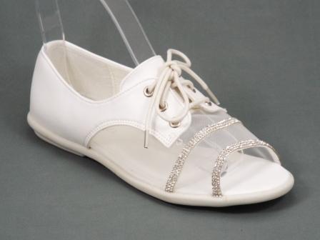 Sandale dama albe Ryanne