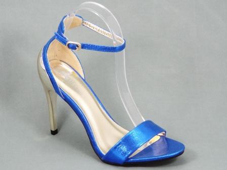Sandale dama albastre toc 10,5 cm Glorya