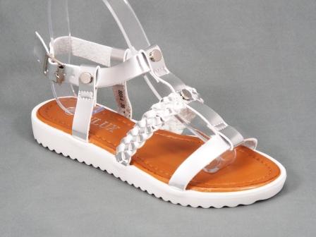 Sandale dama argintii Byanna