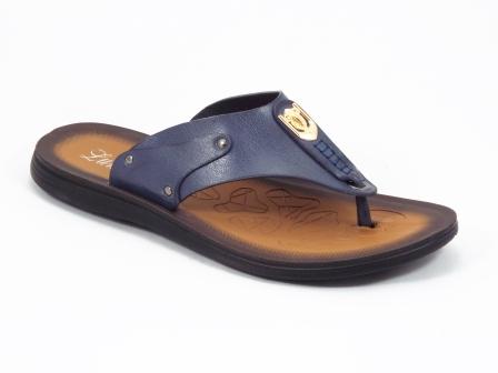 Papuci barbati albastri Mansyk