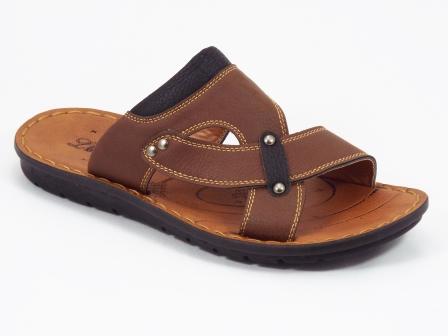 Papuci barbati maro Mansyn