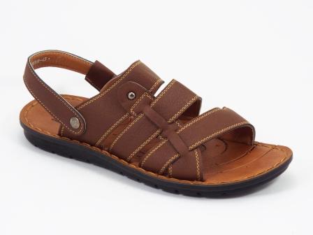 Sandale barbati maro Lonke