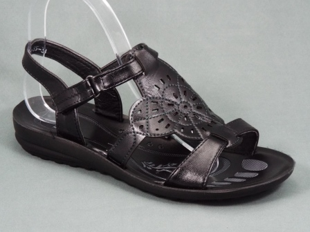 Sandale dama negre Lyana