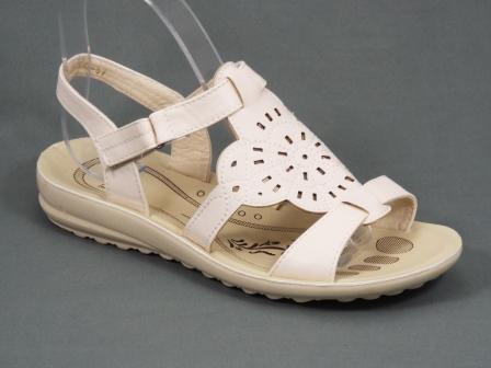 Sandale dama albe Lyana