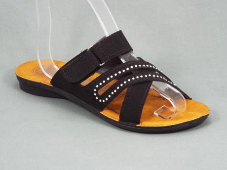 Papuci dama negri Serryna