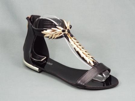 Sandale dama negre Gretta