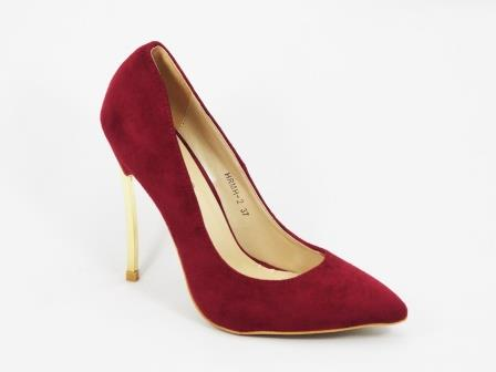 Pantofi dama grena stiletto toc 11 cm Sedone