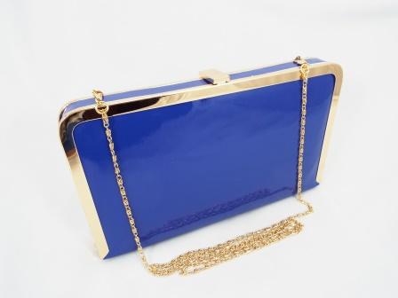 Geanta dama clutch albastra Gynna
