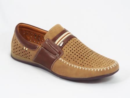 Pantofi barbati maro Geork