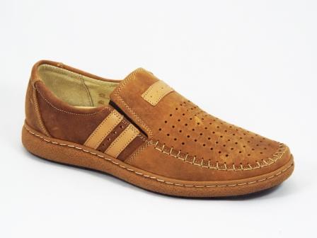 Pantofi barbati piele maro sport Rado