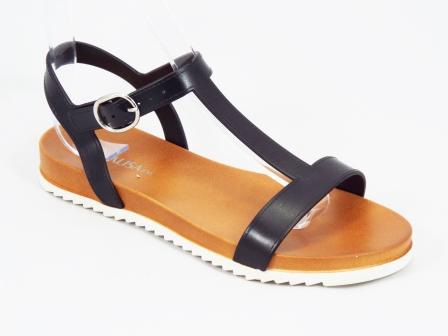 Sandale dama negre Kleo