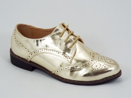 Pantofi dama aurii Gretta
