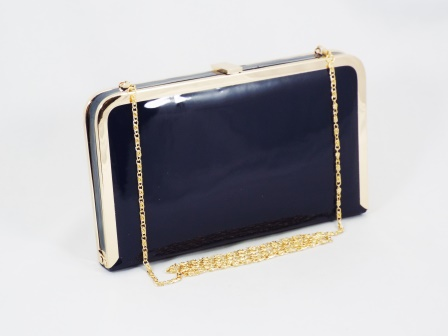 Geanta dama clutch bleumarin Lolly