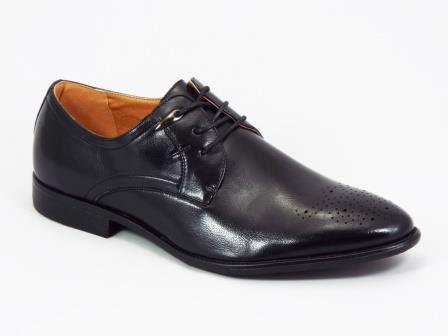 Pantofi barbati negri eleganti Galluk