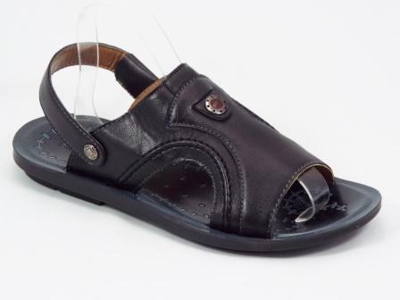 Sandale barbati negre Pynte