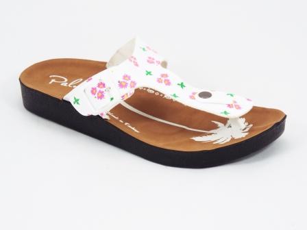 Papuci dama albi Brynna