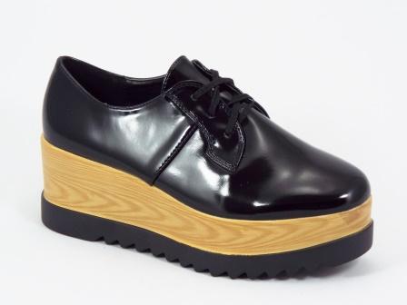 Pantofi dama negri talpa 6,5 cm Corra