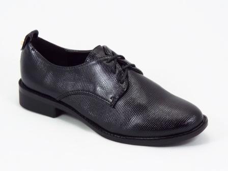 Pantofi dama negri lac toc 2,5 cm Qualla