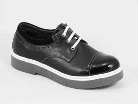 Pantofi dama negri piele Deizzy