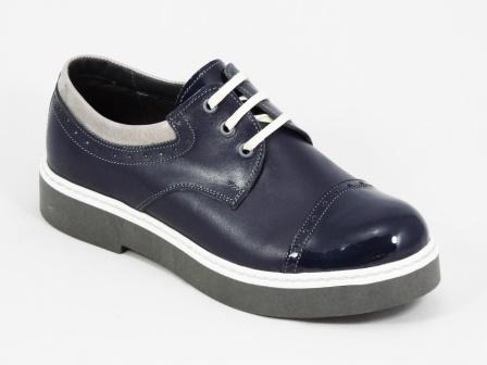 Pantofi dama albastri piele Deizzy
