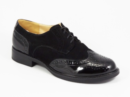 Pantofi dama negri toc 2,5 cm Ryanna