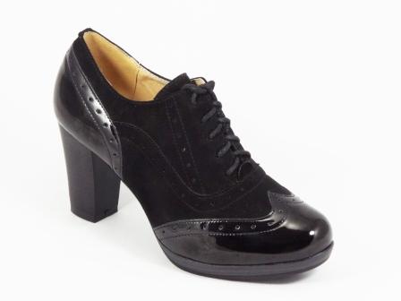 Pantofi dama negri toc 7,5 cm Ryanna