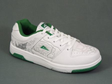 Adidasi dama alb cu verde Xenna