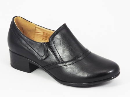 Pantofi dama negri toc 3,5 cm Glenne