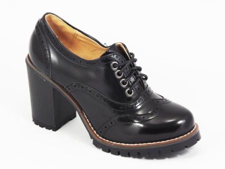 Pantofi dama negri lac toc 9 cm Floryna