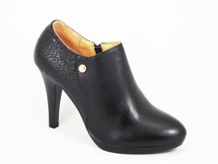Pantofi dama negri toc 10 cm Sonya