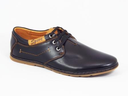 Pantofi barbati negri sport Fuma