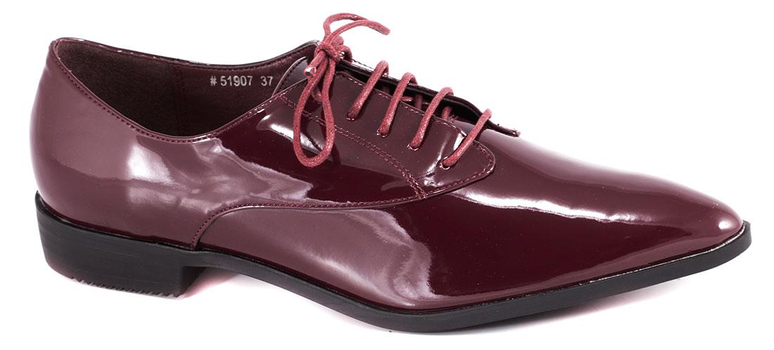 Pantofi dama visinii lac toc 2 cm Vanya
