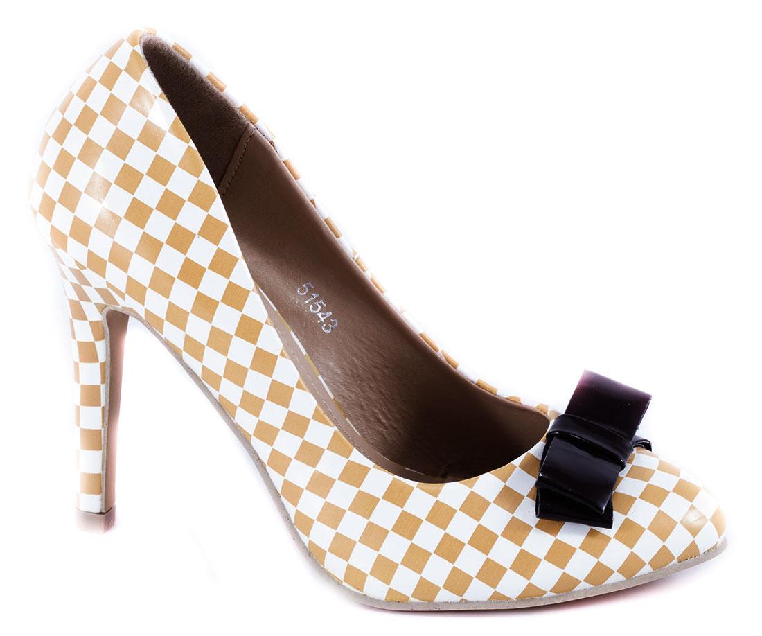 Pantofi dama bej stiletto toc 10 cm Sofia