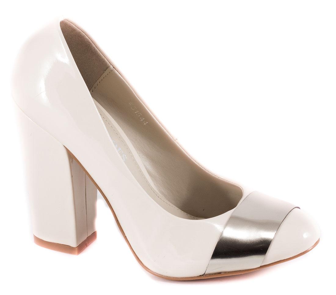 Pantofi dama bej toc 10 cm Seryna