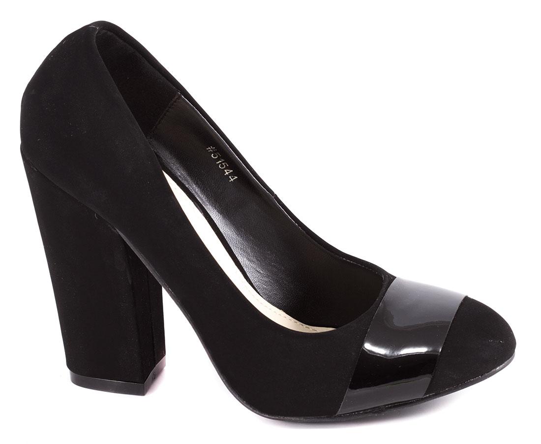 Pantofi dama negri toc 10 cm Seryna