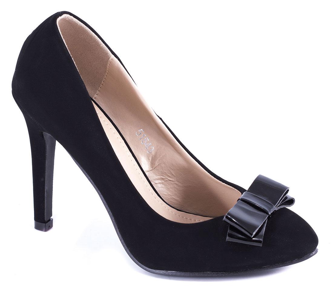 Pantofi dama negri stiletto toc 10 cm Sofia