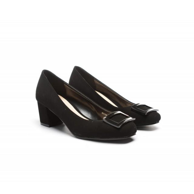 Pantofi dama negri toc 5 cm Xenna