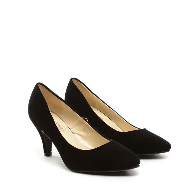 Pantofi dama negri toc 8 cm Zoryna